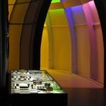 Akki, begehbare Regenbogenfarben