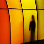 Akki, Lichtspiele, begehbare Regenbogenfarben