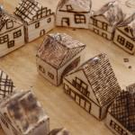 """Akki, Miniatur-Häuser von """"Kreuz & Quer"""""""